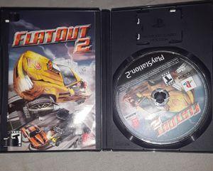 Flatout 2 PS2 for Sale in Orick, CA