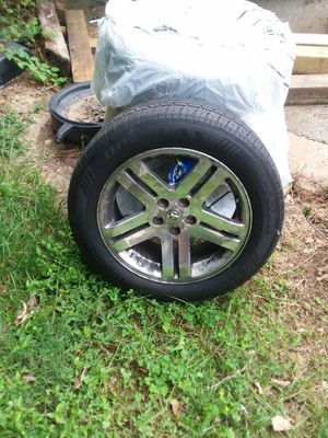 Four Size 18. Dodge charger Stock rims for Sale in Fort Washington, MD