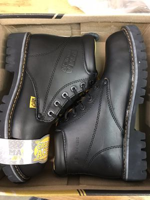 PMA Steel Toe Work Boots Size 7 for Sale in Downey, CA