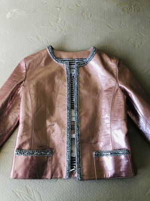 Channel Jacket Metallized Pink for Sale in Fountain Valley, CA