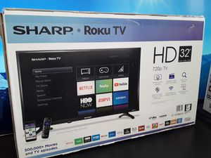 "32""Sharp Roku TV HD for Sale in Los Angeles, CA"