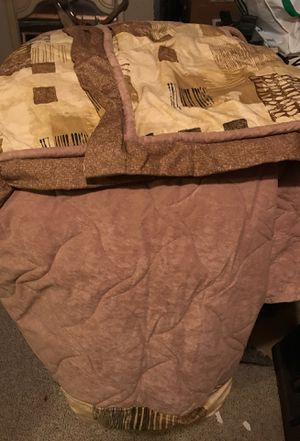 Queen Size Comforter w/ 2 Shams for RV Bed for Sale in Fairfax, VA