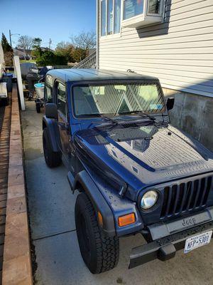 Jeep wrangler 2001 tj for Sale in Babylon, NY