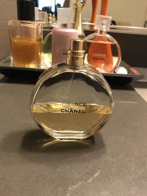Chanel chance eau de perfume 100ml for Sale in Huntington Beach, CA