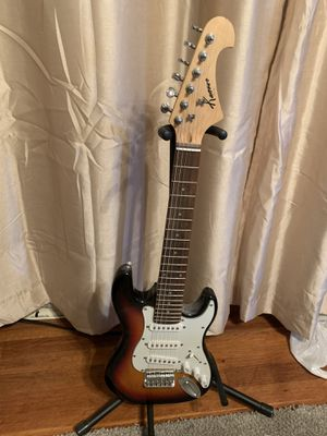 Kansas Double Cutaway S Style Electric Guitar for Sale in East Brunswick, NJ