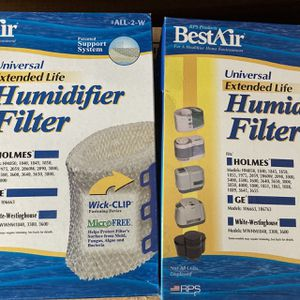 2 Humidifier Filters (New In Box) for Sale in Yorktown Heights, NY