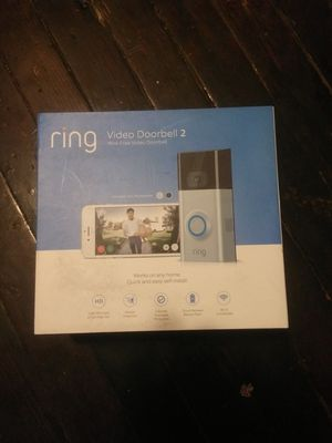 Ring video doorbell 2 read PROFILE for Sale in Stamford, CT