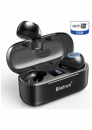 Bietrun Wireless Earbuds - Qualcomm 5.0 Auto Pairing Bluetooth Headphones, True Wireless Ear Buds with 30 Hours Playtime, No Delay Stereo Sound,IPX 7 for Sale in San Diego, CA