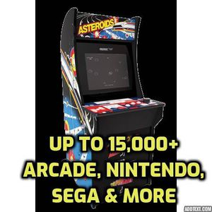 Hacked & MODDED Arcade 1up with up to 40,000+ games of all consoles for Sale in Irving, TX