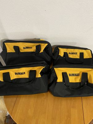 Dewalt tool bags BRAND NEW for Sale in Sacramento, CA