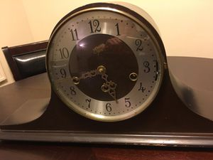 Beautiful Elgin antique clock with chimes for Sale in Portland, OR