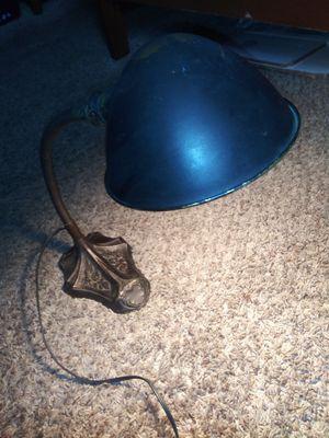 1922 antique s. Robert Schwartz & bro cast iron desk lamp for Sale in Revere, MA