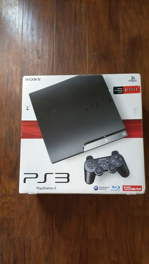 Sony PS3 Game Console w Games for Sale in Fresno, CA