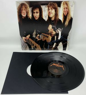 "Metallica The $5.98 E.P. Garage Days Re-Revisited - BLCKND036R-1 - 12"" LP Vinyl for Sale in Worth, IL"
