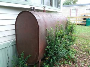 FREE OIL TANK WITH OIL for Sale in Virginia Beach, VA