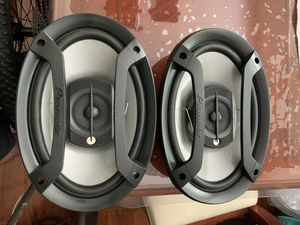 Pair of Brand New Pioneer 6x9 3-way Car Audio Speakers TS-695P for Sale in Costa Mesa, CA