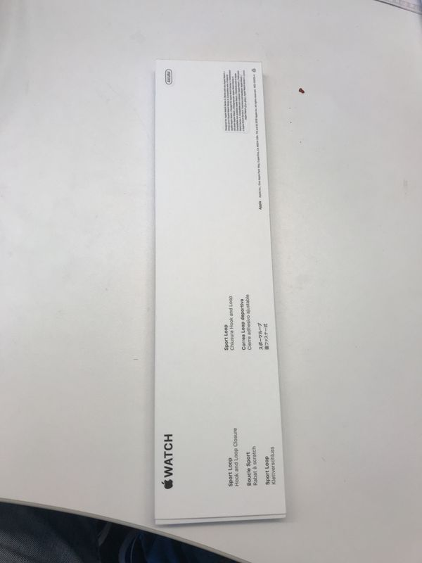 Iwatch series 4 white band