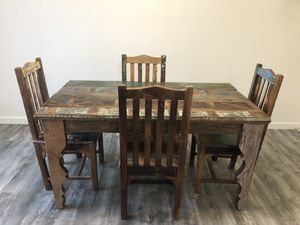 Kitchen table with 4 chairs for Sale in Santa Cruz, CA