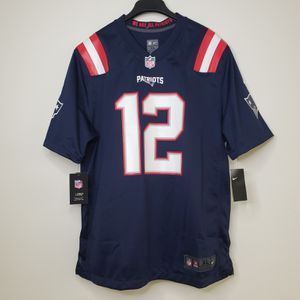 NFL Nike On Field New England Patriots Jersey Tom Brady #12 Men's Size XL for Sale in Los Angeles, CA