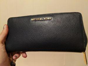Michael Kors blue wallet for Sale in Seattle, WA