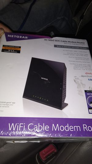 AC1600 wifi cable modem router for Sale in Port Richey, FL