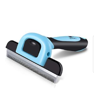 Pet Grooming Brush Effectively Reduces Shedding by up to 95% Professional Deshedding Tool for Dogs and Cats for Sale in Rossville, GA