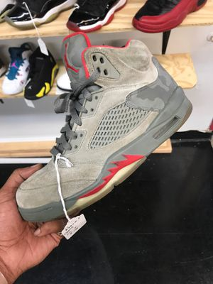 Jordan Retro 5 Camo for Sale in Miramar, FL
