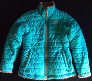 North Face reversible coat-size 10/12 girls for Sale in Chesapeake, VA