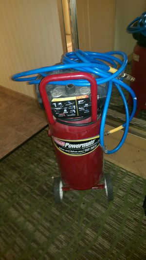 Air compressor and hose for Sale in Fresno, CA