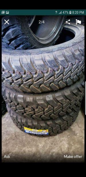 Brand New set of accelera MUD terrain tires 275 45 22 for Sale in Phoenix, AZ