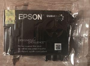 EPSON 220 Black DURA BRIGHT BLACK NOIR PRINTER INK InkJet for Sale in Rusk, TX