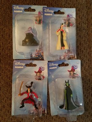 Disney villains Stitch Little Mermaid Mickey Mouse Kingdom of Hearts for Sale in Monterey Park, CA