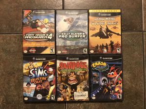 6 Nintendo Gamecube Games for Sale in Chicago, IL