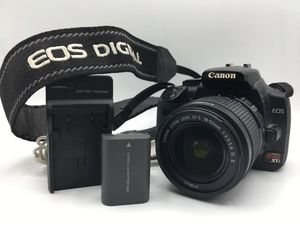 Canon DS126151 EOS Rebel Digital XTi Camera Kit with Canon 18-55mm Lens for Sale in Fullerton, CA