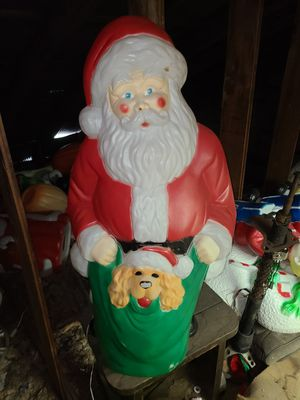 Christmas santa blow mold for Sale in Bolingbrook, IL