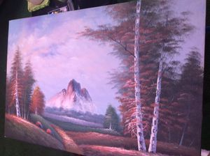 Canvas painting by CRANE for Sale in Lakeland, FL