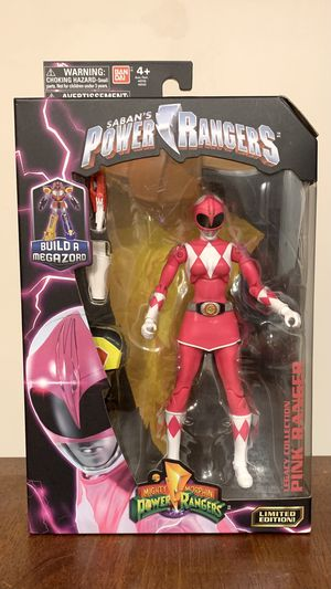 Mighty Morphin Power Rangers Legacy Collection Pink Ranger Action Figure for Sale in Clifton, VA