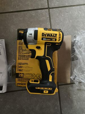 DEWALT 20-Volt MAX XR Lithium-Ion Cordless Brushless 3-Speed 1/4 in. Impact Driver (Tool-Only) for Sale in Round Rock, TX
