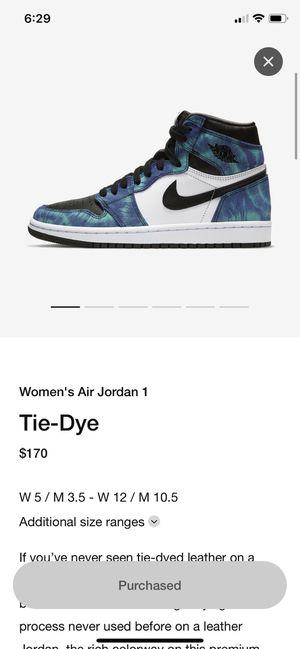 Air Jordan 1 High OG Tie Dye Nike for Sale in Walnut, CA