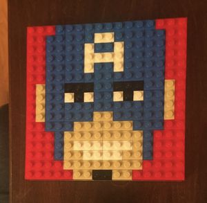 LEGO Captain America Mosaic for Sale in Aurora, IL