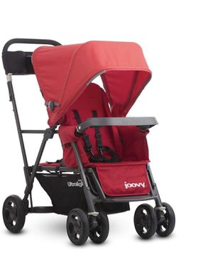 Joovy Caboose Ultralight Graphite Stroller, Red for Sale in Hillsboro, OR
