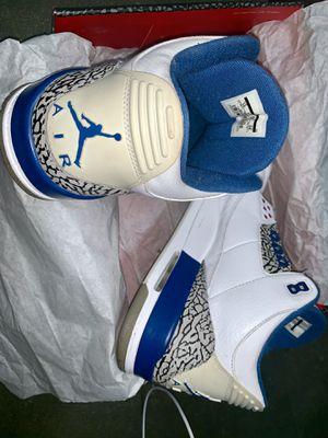 Air Jordan 3 RetroTrue Blue size 12 (2011 Release) Vintage for Sale in Los Angeles, CA