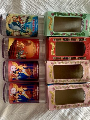 Burger King Collectable Disney Movie Glasses for Sale in Hamilton, OH