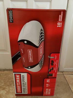 Craftsman chain drive Garage door opener for Sale in Glendale, AZ