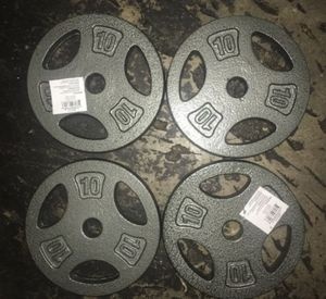 10 lb Standard 1 inch weight set for Sale in Covina, CA