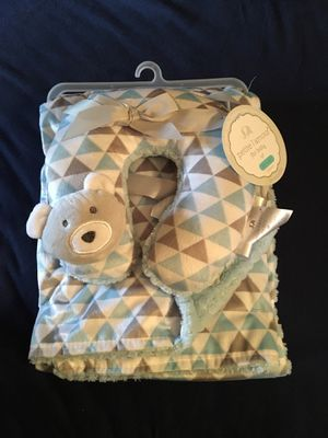Baby travel blanket and neck pillow for Sale in Yorba Linda, CA