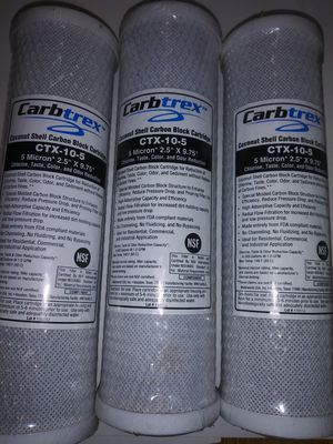 """CARBTREX CTX - 10.5 5 MICRON 2.5"""" X 9.75 for Sale in Brownsville, TX"""
