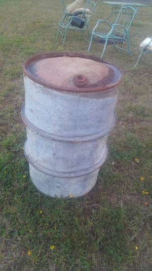 50 Gallon drum barrel for Sale in Malone, WA