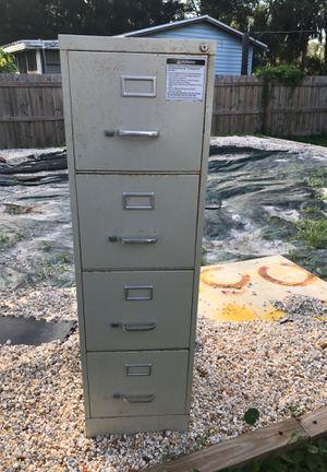 4 drawer filing cabinet for Sale in Melbourne, FL