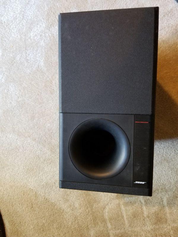 Bose speaker box